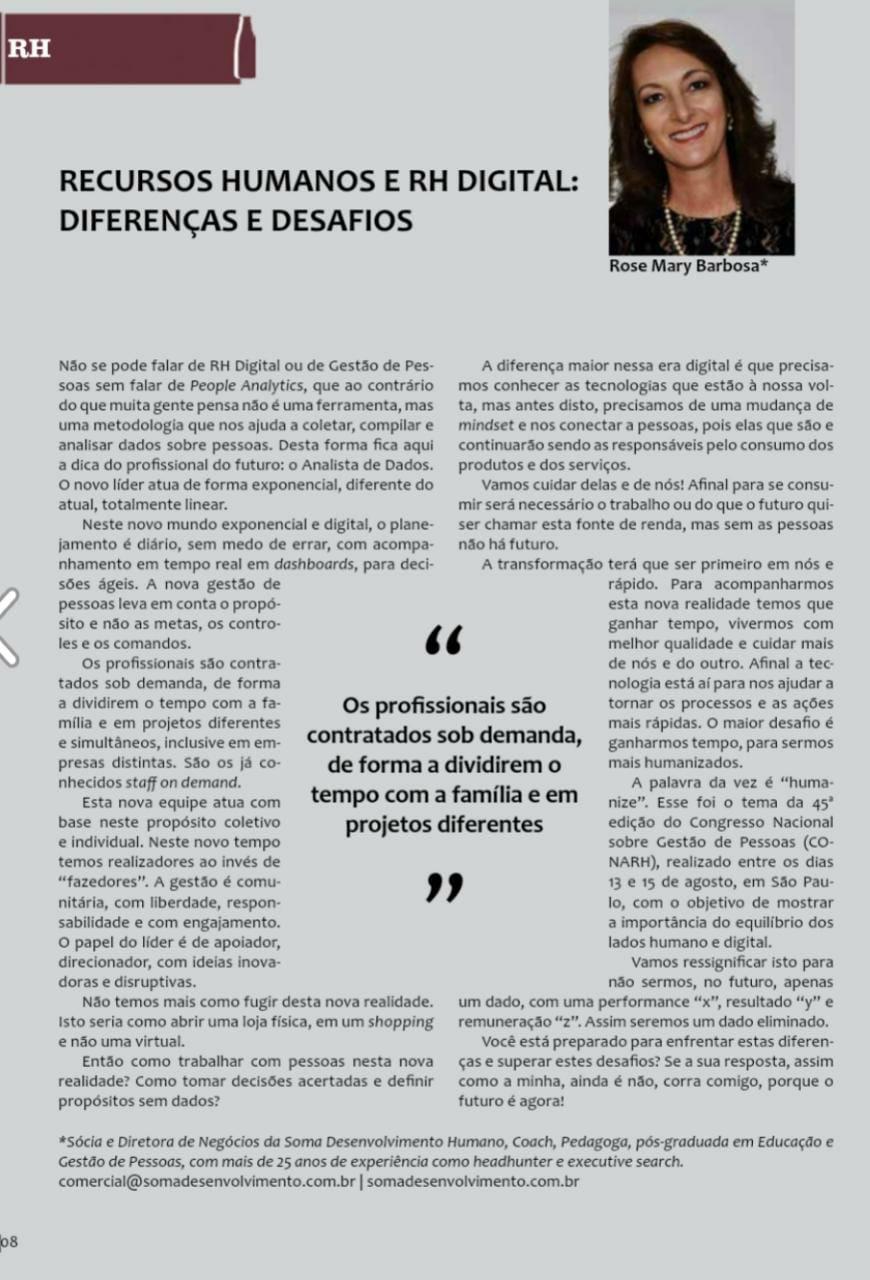 Artigo Publicado na Revista Febradisk -  7ª edição