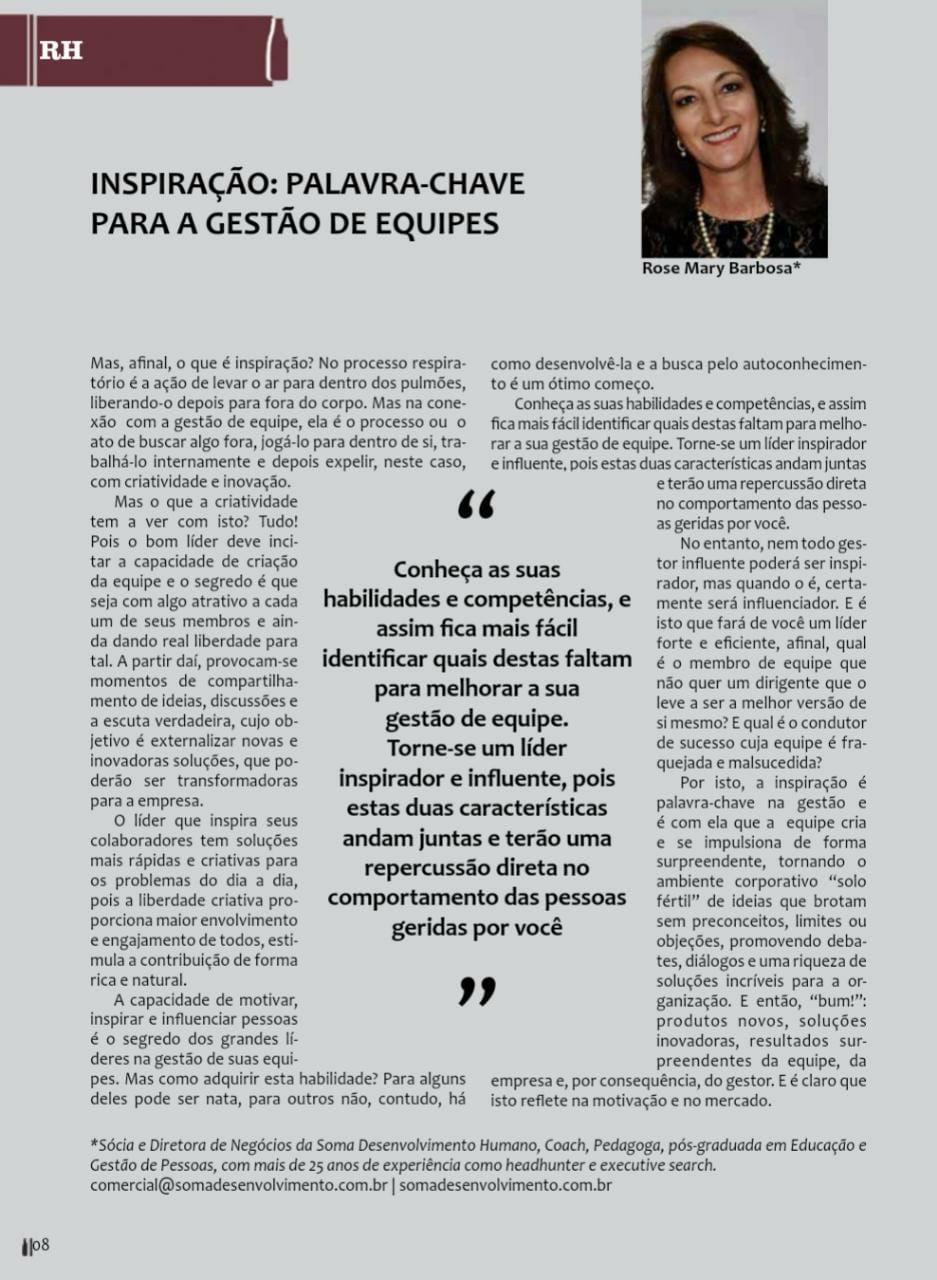 Artigo Publicado na Revista Febradisk - 8ª edição
